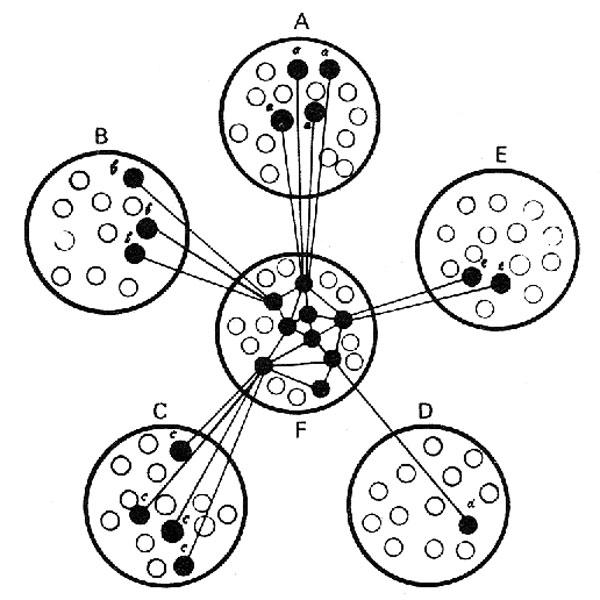 Схема, иллюстрирующая процесс